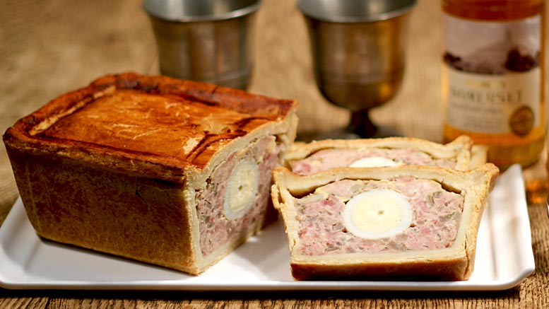 Pork Egg And Ham Pie