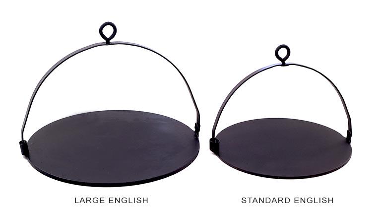 Large Standard English Griddle