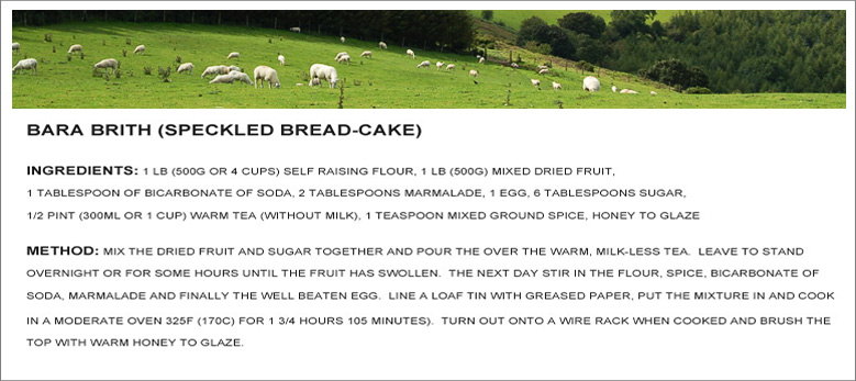 A Collection Of Welsh Recipes