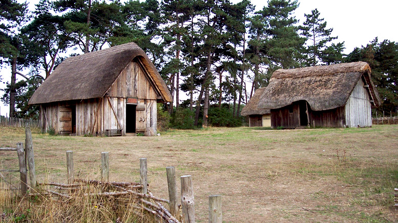 Anglo Saxon Village Recreated