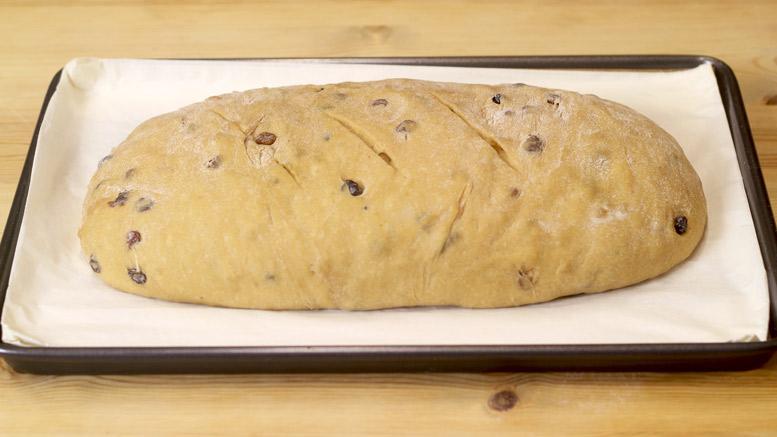 The Bara Brith Bread Dough Ready For Baking