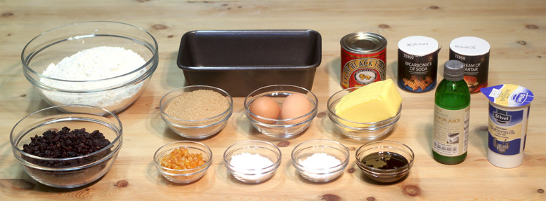 Bara Brith Ingredients