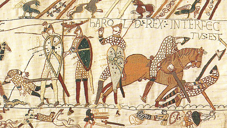 Bayeux Tapestry Anglo-Saxons