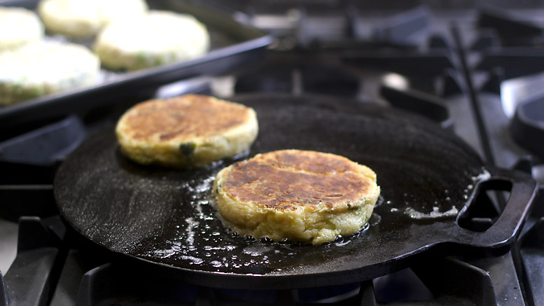Frying Bubble & Squeak