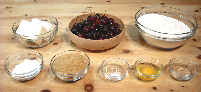 Cherry Turnovers Ingredients