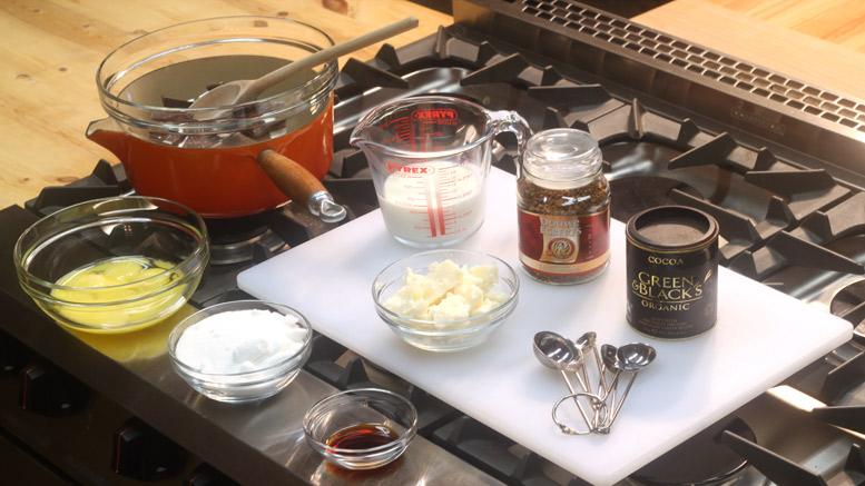 Making The Chocolate Marshmallow Cake