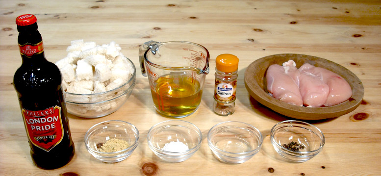 Ingredients For Chykonys In Bruette