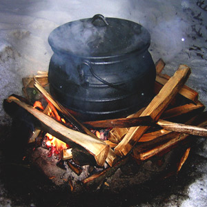 Cooking A Briw (Broth) In A Pot