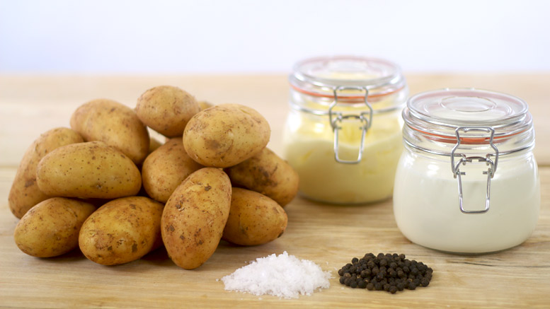 Mashed Potato Ingredients