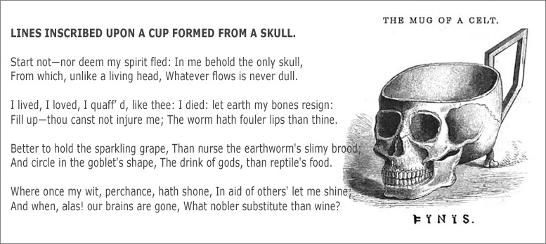 Cup And Their Customs - A Skull Drinking Vessel