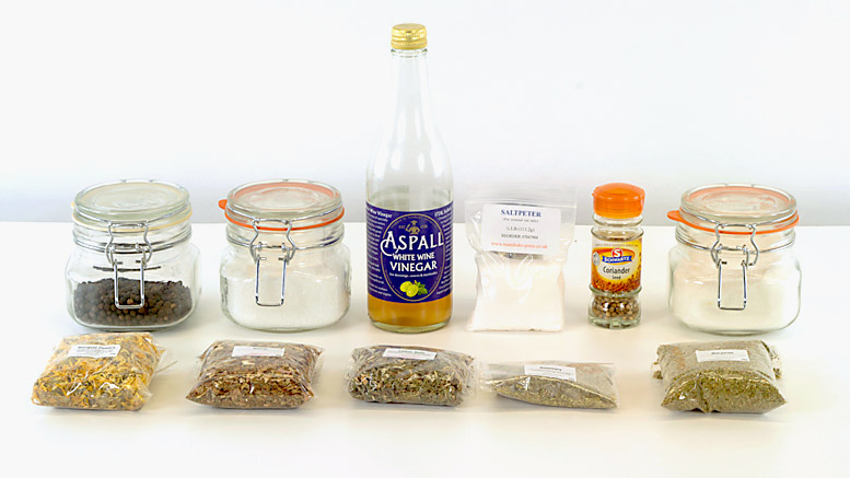 Dry Curing Ingredients