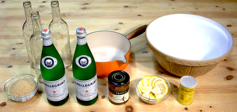 Ginger Beer Ingredients
