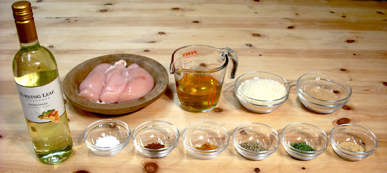 Henne In Bokenade Ingredients