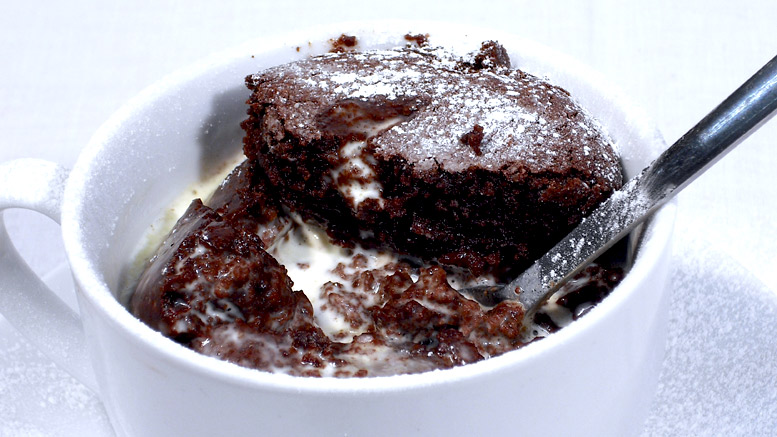 Hot Chocolate Puddings