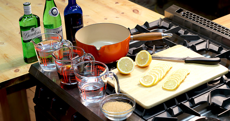 Hot Gin Punch Method