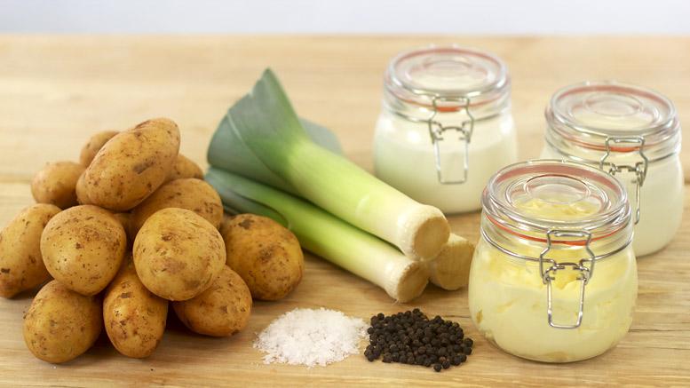 Ingredients For Leek Mashed Potatoes