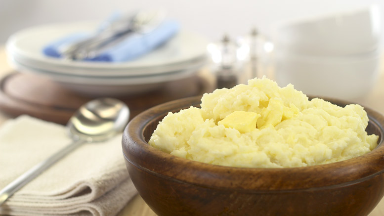 A Simple Mashed Potato