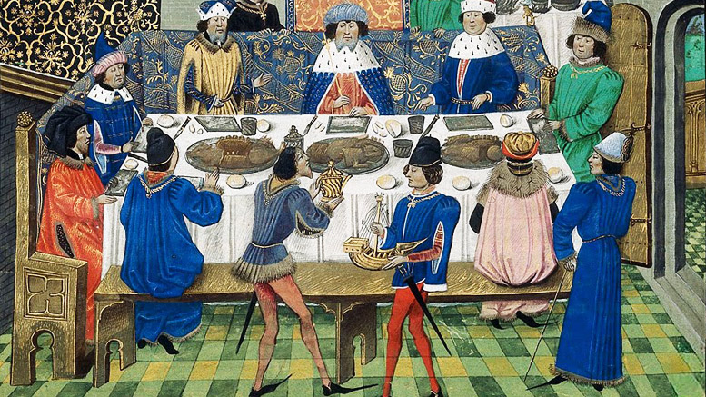 Richard II Feasting