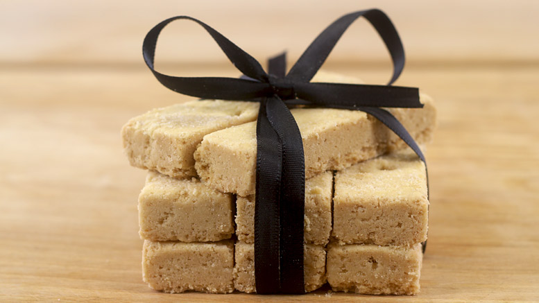 Traditional Scottish Shortbread Fingers