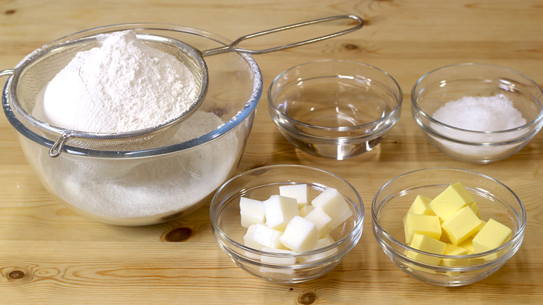 Shortcrust Pastry Ingredients
