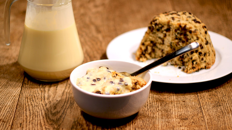 Spotted Dick Pudding