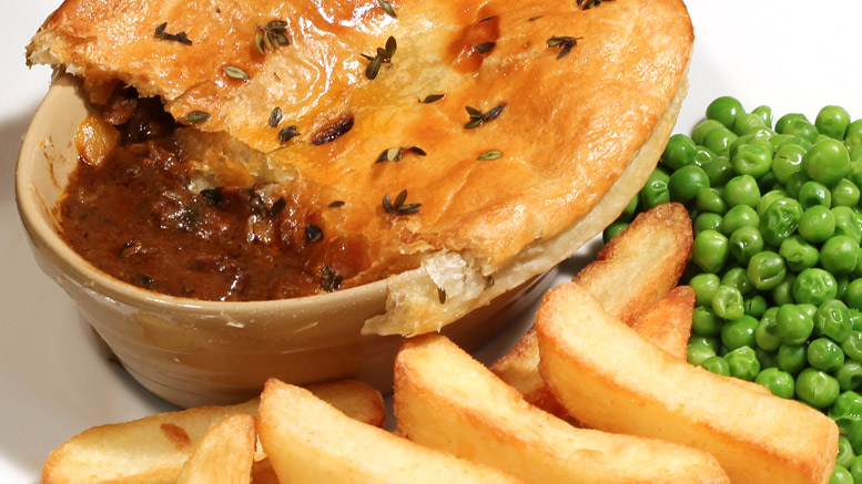 A Traditional Steak And Ale Pie