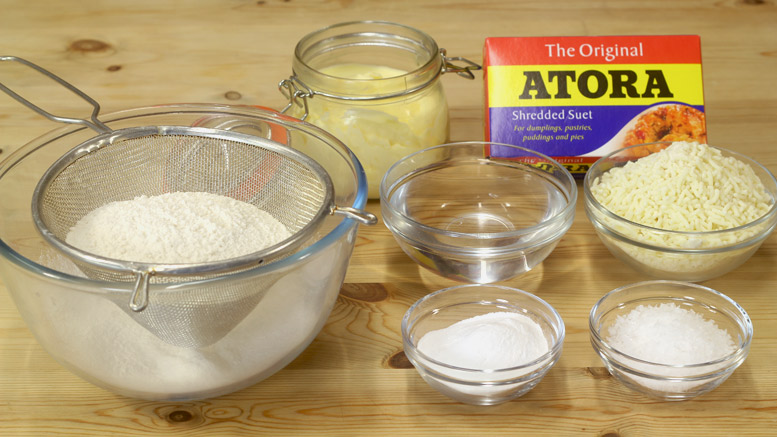 Suet Crust Pastry Ingredients