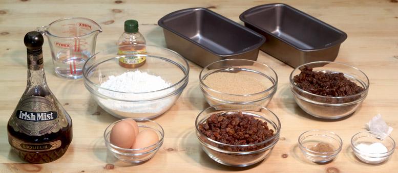 Tea Brack Ingredients
