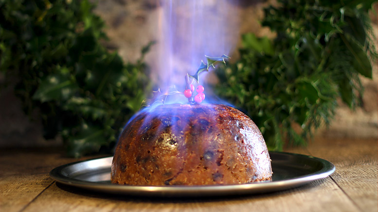 The Royal Family Christmas Pudding