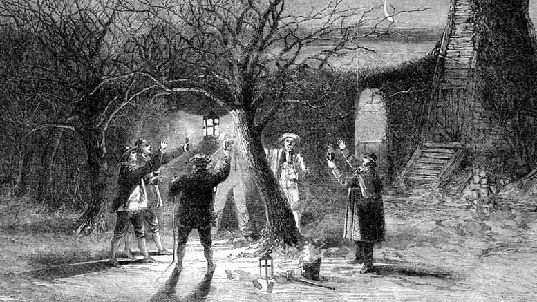 Traditional Wassailing